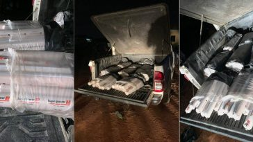 Police Intercepts Truck Filled With Explosives And Detonators In Delta State [Photos] 1