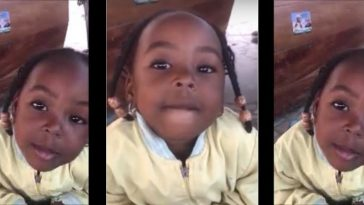 2-Year-Old Girl Says She will Vote Atiku Because Buhari is Wicked [Video] 1