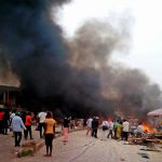 Maiduguri Under Attack On Election Day As Eleven Explosions Occur Within Ten Minutes 28