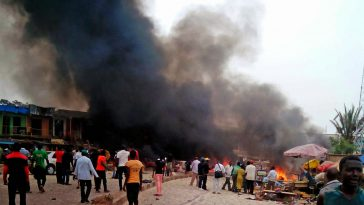 Maiduguri Under Attack On Election Day As Eleven Explosions Occur Within Ten Minutes 6