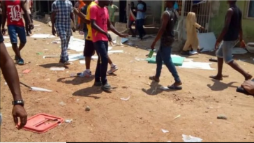 One reportedly killed as thugs hijack ballot box in Bayelsa 6