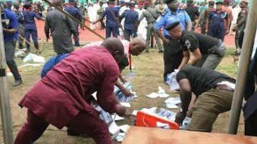 One Killed, Many Injured As Thugs Hijack Ballot Box In Bayelsa 1