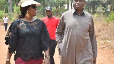 APC Governorship candidate Senator Ayogu Eze casts his vote - PHOTONEWS 2