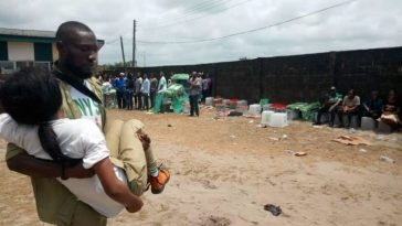 Corps Members, Nigerians Run For Their Lives As Over 20 Gunmen Invades Polling Unit In Rivers [Photos] 6