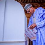Breaking News: President Buhari Wins His Polling Unit 31