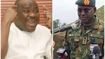 Governor Wike's assassination claim is bogus and unsubstantiated – Nigerian Army 13