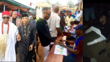 Governor Obiano's Aide Caught Trying To Snatch Ballot Box In Anambra [Photos] 6
