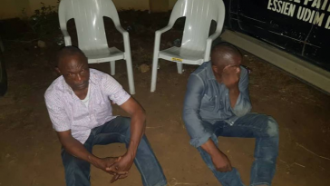 Governor Udom's SA And His Brother Caught Trying To Snatch Result Sheets In Akwa Ibom 1