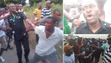 Deputy Commissioner Of Police In Bayelsa Publicly Humilated By Mob For Snatching Ballot Box [Video] 2
