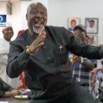 See How Dino Melaye Reacted After INEC Declared Him Winner Of Kogi Senatorial Race 8
