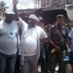 Okorocha, PDP Candidate Storms INEC Office After Returning Officer Refused To Continue Process 10
