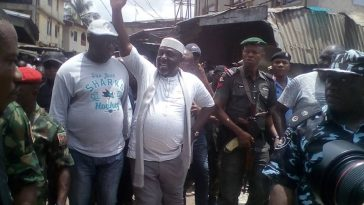 Okorocha, PDP Candidate Storms INEC Office After Returning Officer Refused To Continue Process 7