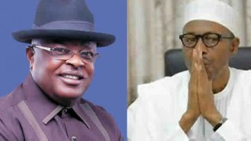 """When A Man's Ways Pleases God, It Makes His Enemies Be At Peace With Him"" - Umahi On Buhari 7"