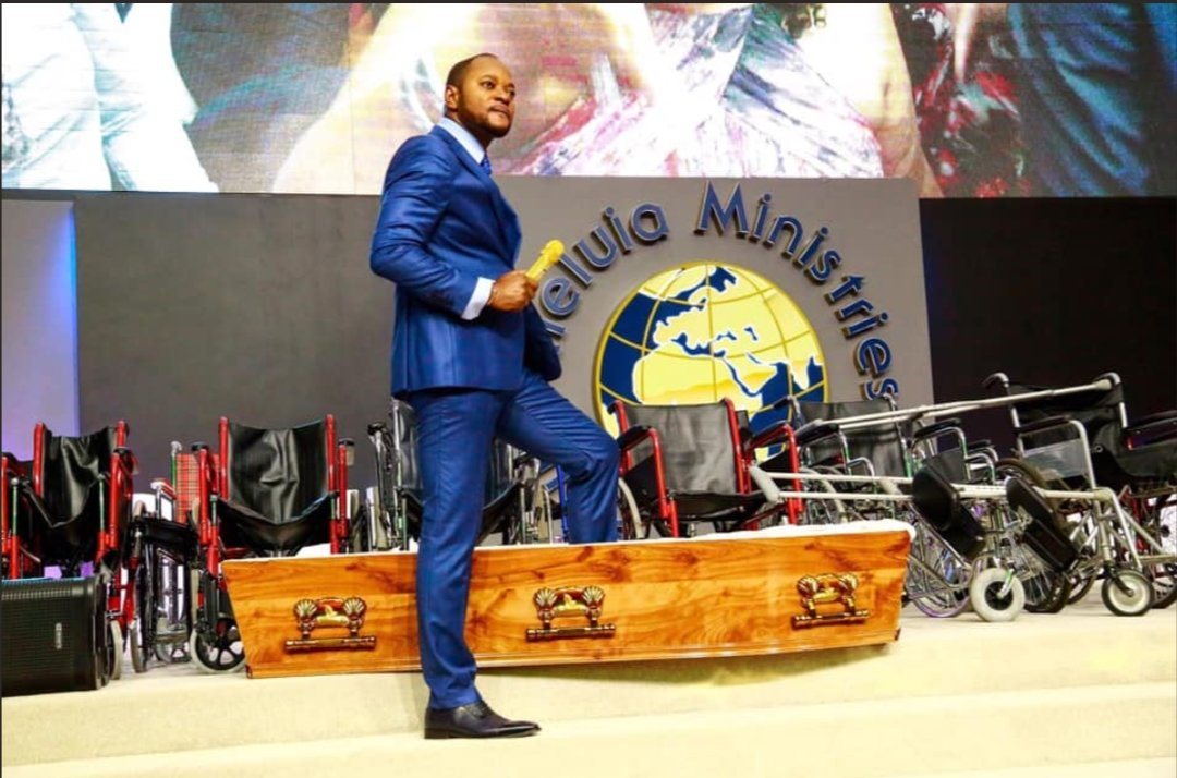 South African Pastor Under fire for fake resurrection miracle - VIDEO 1