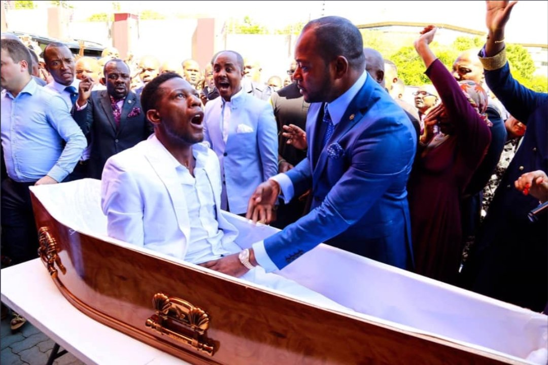 South African Pastor Under fire for fake resurrection miracle - VIDEO 3