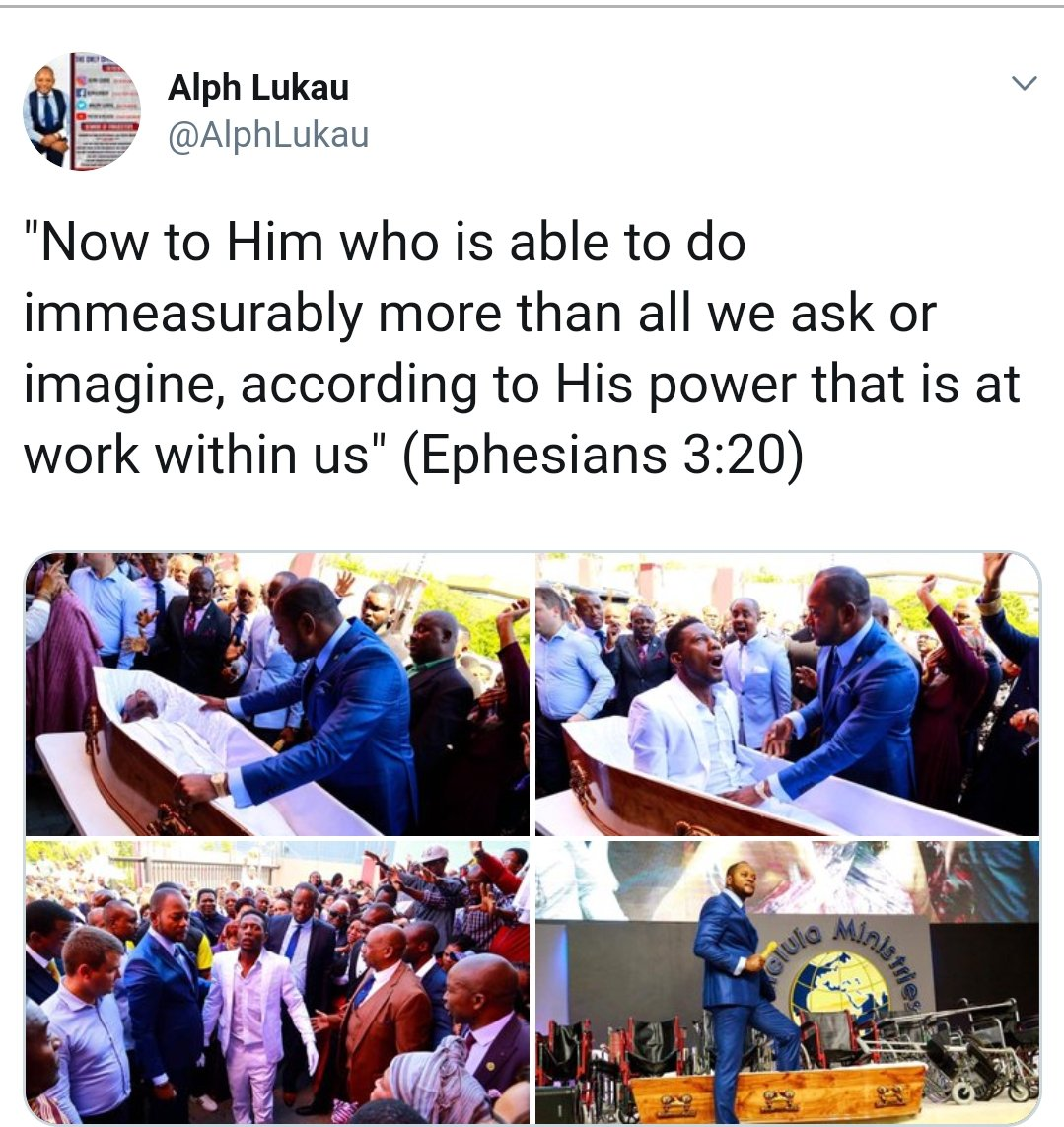 South African Pastor Under fire for fake resurrection miracle - VIDEO 4