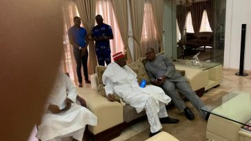 Peter Obi And Kwankwaso Visits Atiku in His Residence After Election Defeat [Photos] 2