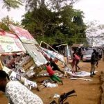 Akume, APC Youths Destroys Billboards, Posters Belonging To Ortom, PDP Candidates In Markudi [Photos] 10