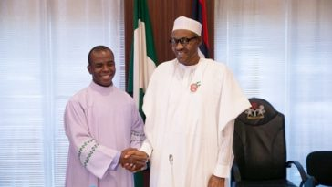 See How Father Mbaka Reacted To President Buhari's Re-election Victory 5