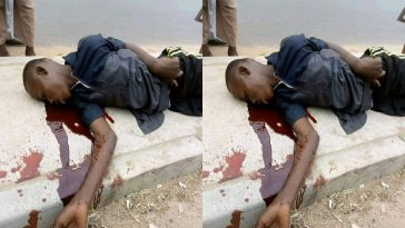 Boy Dies In An Accident While Celebrating President Buhari's Re-election In Jalingo [Photo] 4
