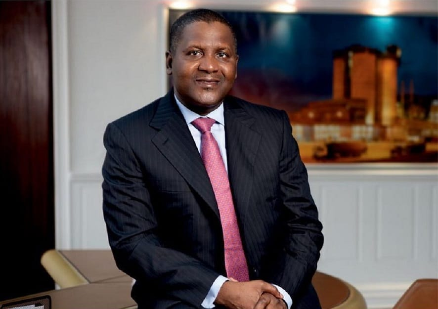 Aliko Dangote Remains The Only African Billionaire Among The World's 100 Richest People For 2019 1