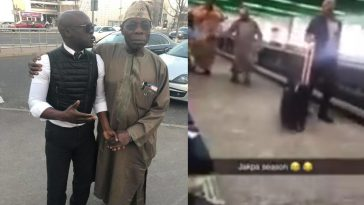 Obasanjo Seen Running To London After President Buhari's Re-election Victory [Video] 3
