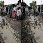 Another Man Dips Himself Inside Dirty Gutter To Celebrate President Buhari's Victory [Photo] 28