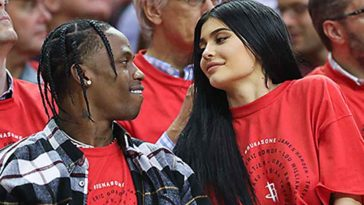 Kylie Jenner Surprises Travis Scott With Lamborghini On His Birthday, Pleads With Him For Another Baby 7