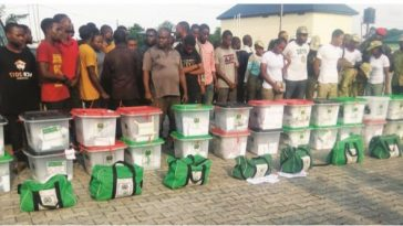 Army Parades 11 Corps Members Who Claimed Thugs Forced Them At Gunpoint To Rig Election 1