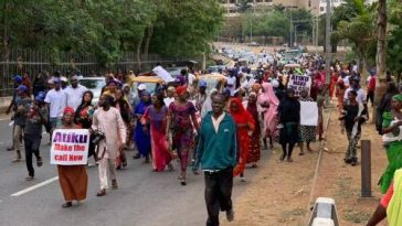 'Two Million Women' Holds Rally In Abuja Asking Atiku To Concede Defeat To Buhari 6