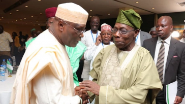 No Living Nigerian Has Given Much To The Country Like Obasanjo – Atiku 2