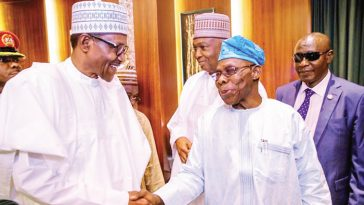 I'm Buhari's Boss, There's Nothing Personal Between Him And I — Obasanjo 1