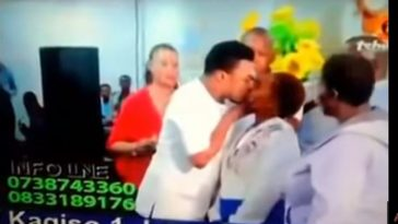 Meet Pastor Who Heal Women By Kissing Them Passionately And Folding Their Breast In Church [Video] 1