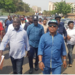 PDP Leaders Storms INEC Office To Protest Over Presidential Election [Photos] 10