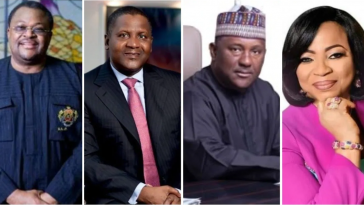 Four Nigerians Makes List Of Forbes' 13 black Billionaires For 2019 - See Full List 13
