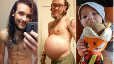 Transgender Man Who Gave Birth To Baby Boy Opens Up On His Pregnancy Journey [Photos] 1
