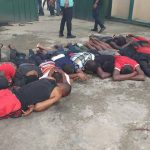 Akwa Ibom Youths Storms Hotel, Arrests Over 30 Imported Thugs Ahead Of Elections [Photos] 10