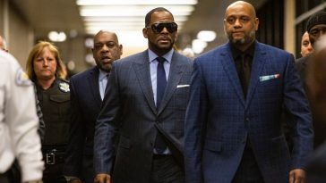 R.Kelly Re-arrested, Going To Jail Again After Failing To Pay $161,000 For Child Support To Ex-Wife 1