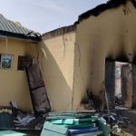 INEC Office Catches Fire In Akwa Ibom Ahead Of Tomorrow's Governoship Election [Photos] 13