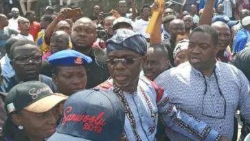 Card reader fails at Sanwo-Olu's Polling Unit 2