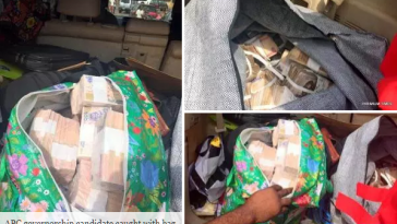 APC Governorship Candidate In Benue State Caught With Bags Of Cash [Photos/Video] 2