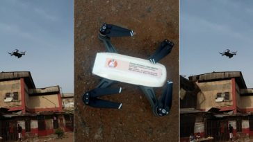Photos Of Drone Surveillance Being Used By EFCC To Monitor Elections In Edo State 3