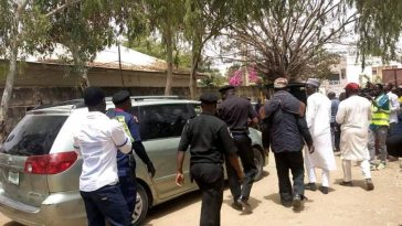 Vehicle Loaded With Thumb Printed Ballot Papers Intercepted By Police in Kano [Photos] 1