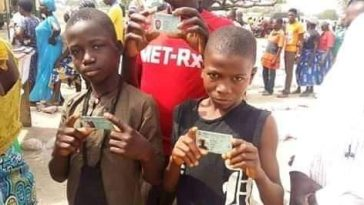 Underage Voters spotted in Plateau State - PHOTONEWS 9