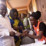 PHOTONEWS: Governor Ambode Delivers His Polling Unit To APC 12