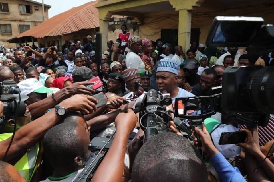 PHOTONEWS: Bukola Saraki Casts His Vote 3