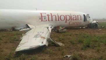 BREAKING NEWS: All 157 persons die as Ethiopian plane crash shortly after takeoff 2