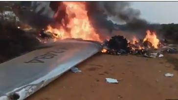 Mayor, Her Family And Other Passengers Killed As Plane Crashes In Colombia [Photos] 1
