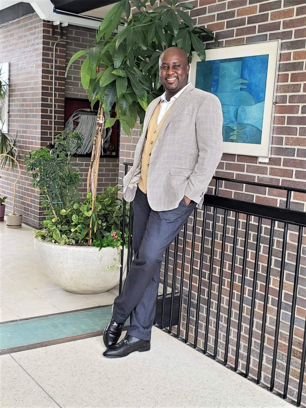 Pictures of professor Pius Adesanmi, the only Nigerian on board the Ethiopian Plane that crashed killing all 157 passengers 3