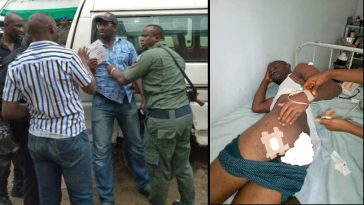 SARS Shots INEC Ad-Hoc Staff In The Buttocks For Preventing Them From Manipulating Election Result [Photos/Video] 1